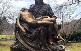 pieta statue in copper 20190318180942