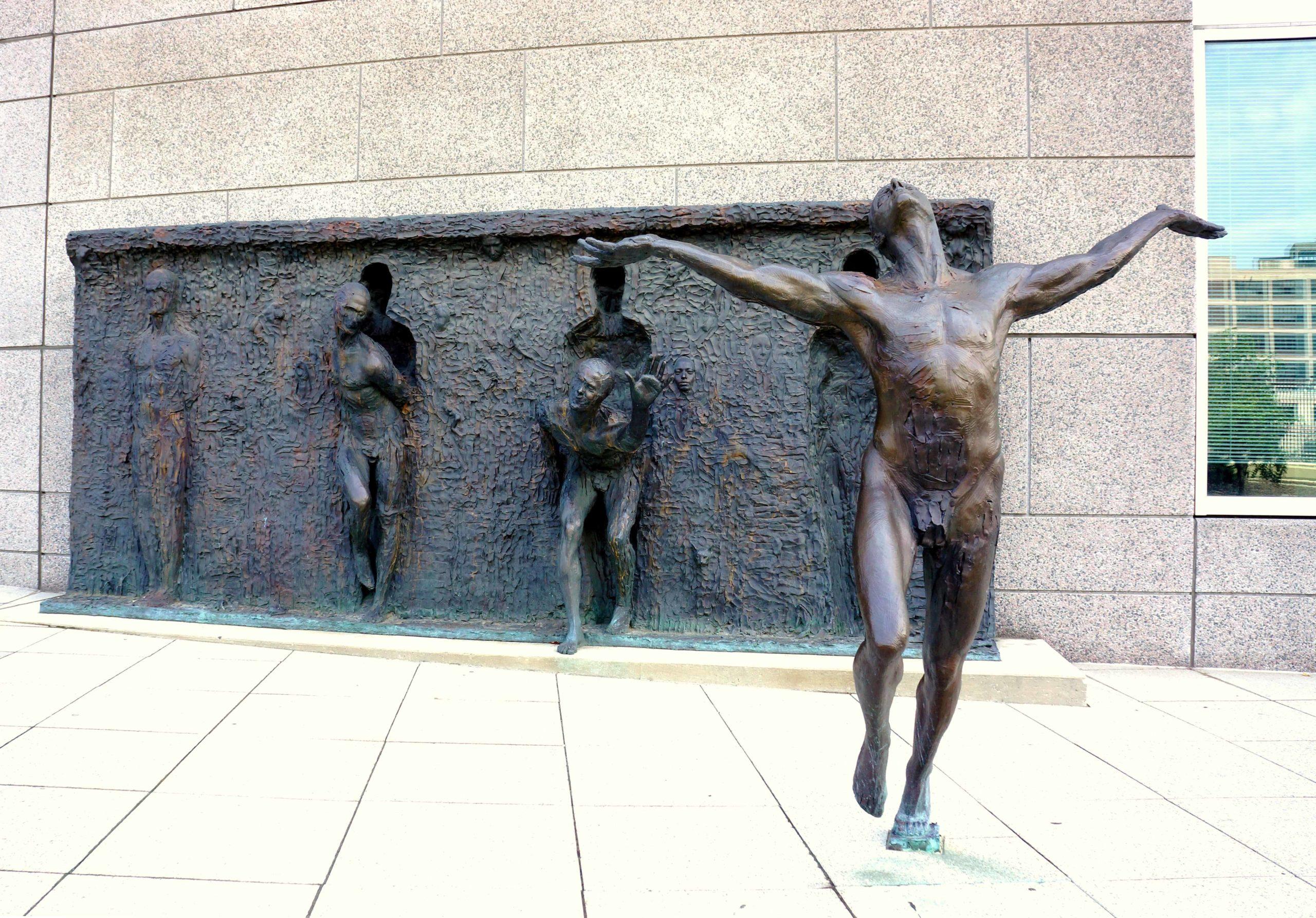 1.Freedom by Zenos Frudakis