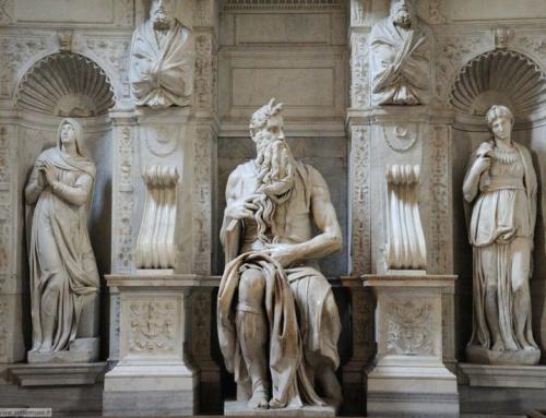 Moses sculptures