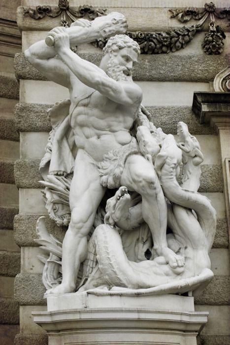 2.The Lernaean Hydra statue 2