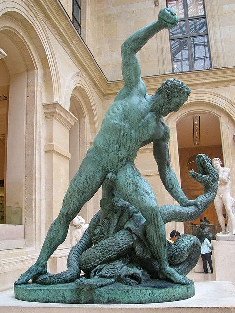 2.The Lernaean Hydra statue