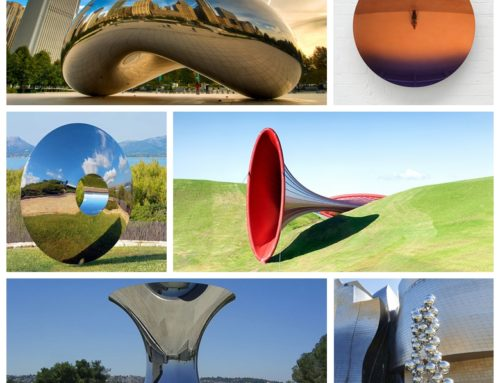The World in the Mirror– Anish Kapoor sculptures