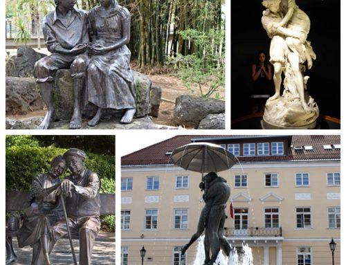 Love themed sculptures